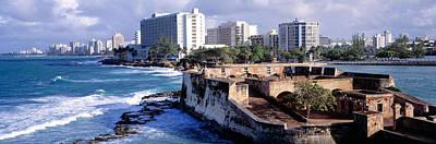 Arsenal Photograph - San Jeronimo Fort, San Juan, Puerto Rico by Panoramic Images
