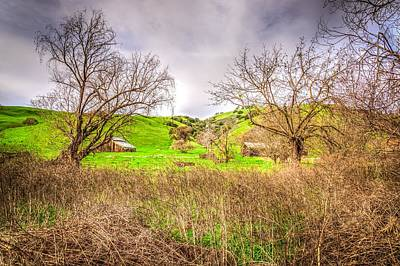 Photograph - San Joaquin Barn by Spencer McDonald
