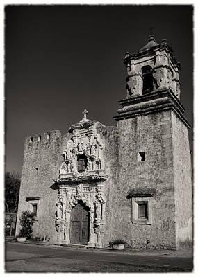 Virgin Guadalupe Photograph - San Jose - Bw Border by Stephen Stookey