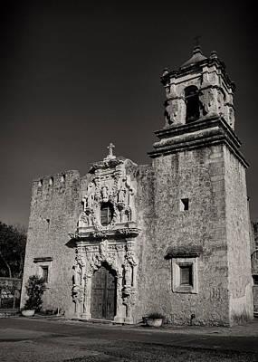 Virgin Guadalupe Photograph - San Jose - Bw by Stephen Stookey