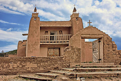 Photograph - San Jose De Gracia - Las Trampas - New Mexico by Nikolyn McDonald