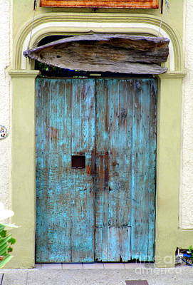 Photograph - San Jose Del Cabo Door 1 by Randall Weidner