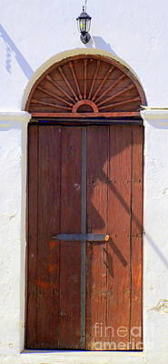 Photograph - San Jose Del Cabo Door 12 by Randall Weidner