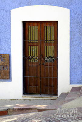 Photograph - San Jose Del Cabo Door 2 by Randall Weidner