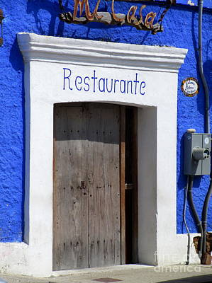 Photograph - San Jose Del Cabo Door 4 by Randall Weidner
