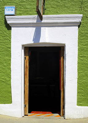Photograph - San Jose Del Cabo Door 7 by Randall Weidner