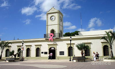 Photograph - San Jose Del Cabo Municipal Building by Randall Weidner