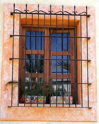 Photograph - San Jose Del Cabo Window 1 by Randall Weidner