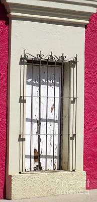 Photograph - San Jose Del Cabo Window 10 by Randall Weidner