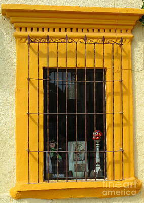 Photograph - San Jose Del Cabo Window 3 by Randall Weidner