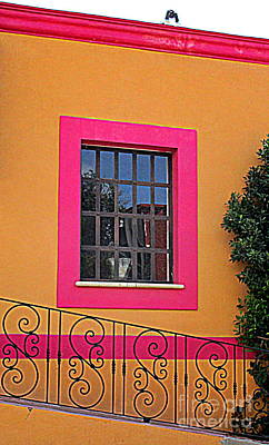 Photograph - San Jose Del Cabo Window 5 by Randall Weidner