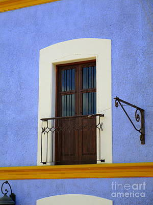 Photograph - San Jose Del Cabo Window 7 by Randall Weidner