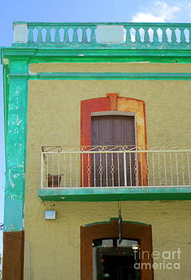 Photograph - San Jose Del Cabo Window 8 by Randall Weidner