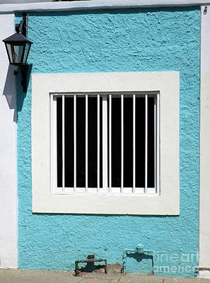 Photograph - San Jose Del Cabo Window 9 by Randall Weidner