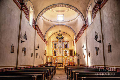 Photograph - San Jose Mission by Lynn Sprowl