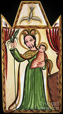 Painting - San Jose - St. Joseph - Aosjo by Br Arturo Olivas OFS