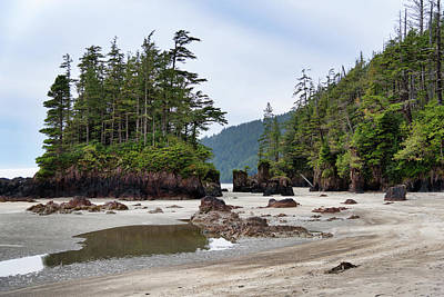 Photograph - San Josef Bay by Keith Boone