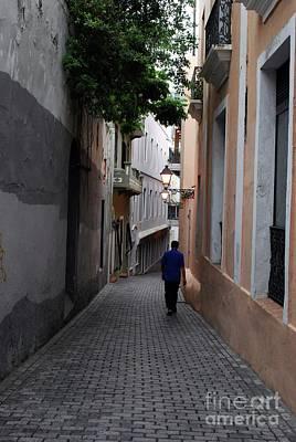 Photograph - San Juan Alley by Gary Wonning