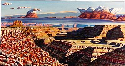 Painting - San Juan Banks #3 by Allen Kerns