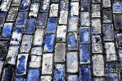 Photograph - San Juan Blue Brick Fusion by John Rizzuto