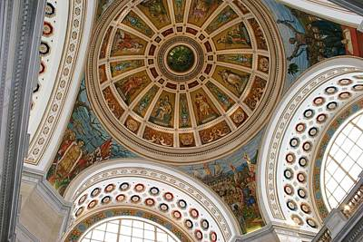 Photograph - San Juan Capital Building Ceiling by Lois Lepisto