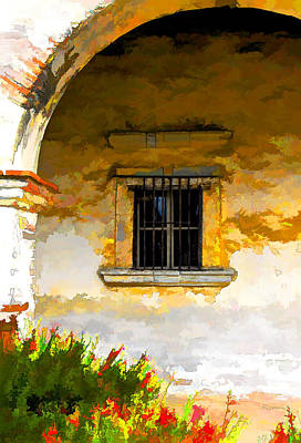 San Juan Digital Art - San Juan Capitstrano by Patricia Stalter