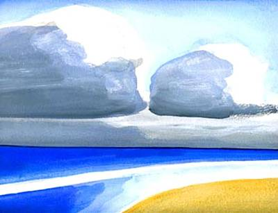 Painting - San Juan Cloudscpe by Dick Sauer