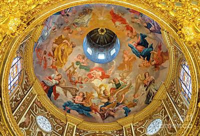 Dio Photograph - San Juan De Dios Church Camarin Roof Xviii by Guido Montanes Castillo