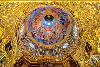 Dio Photograph - San Juan De Dios Church Camarin Xviii by Guido Montanes Castillo