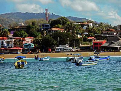 Photograph - San Juan Del Sur 1 by Ron Kandt