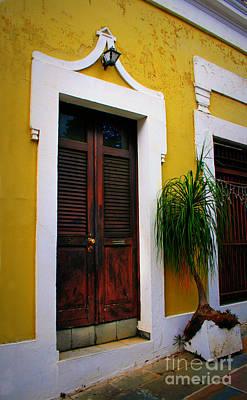 San Juan Doors Art Print
