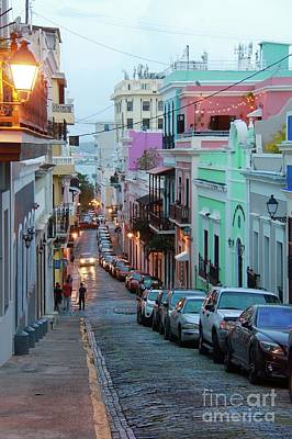 Photograph - San Juan Evening Glow by Suzanne Oesterling