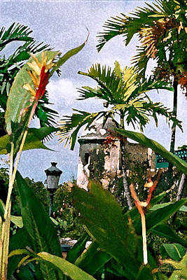 Digital Art - San Juan Gate by Donna Corless