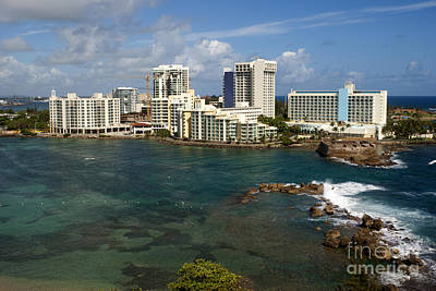 Aeriel View Photograph - San Juan In Puerto Rico by Anthony Totah