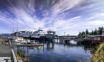 Photograph - San Juan Island Ferry by Gordon Engebretson
