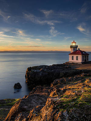 Photograph - San Juan Island Serenity by Dan Mihai