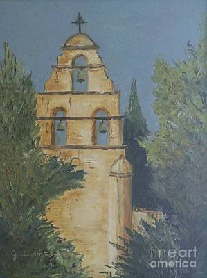 Painting - San Juan Mission by Jeanie Watson