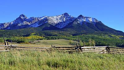 Photograph - San Juan Mountain Range by David Lee Thompson