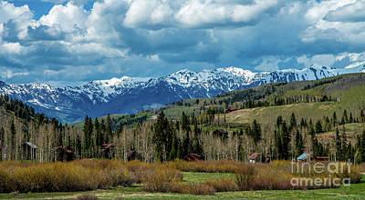 Photograph - San Juan Mountains by Stephen Whalen