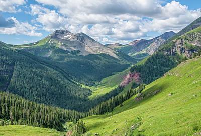 Photograph - San Juan Mountains Vista by Alan Toepfer