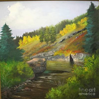 Painting - San Juan River by Barbara Haviland