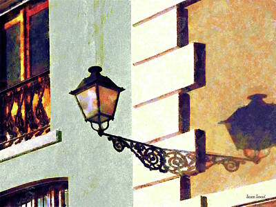Photograph - San Juan Street Lamp by Susan Savad