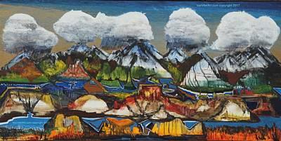 Painting - San Juan Valley by Richard Van Vliet