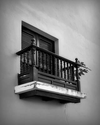 San Juan Window 2 Art Print by Perry Webster