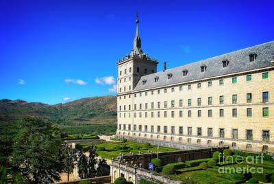 Photograph - San Lorenzo De El Escorial by Mary Machare