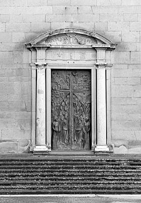 Photograph - San Lorenzo Door by Valentino Visentini