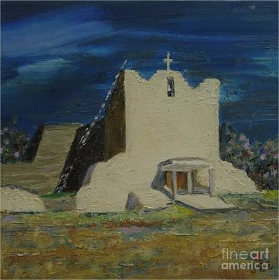 Painting - San Lorenzo - Sold by Judith Espinoza