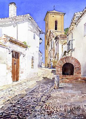 Painting - San Luis Granada by Margaret Merry