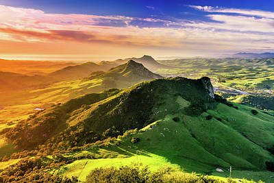 Bishop Peak View - San Luis Obispo Art Print