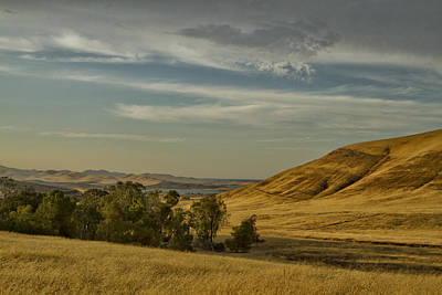 Photograph - San Luis Reservoir 9891 by Tom Kelly